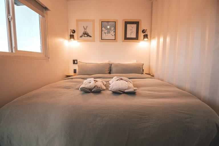 La chambre style scandinave